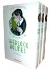 Coffret 3 volumes Sherlock Holmes - Les aventures de Sherlock Holmes Tome1-2-3 Omnibus 76,20€