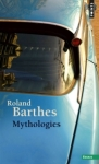 Mythologies de Roland Barthes ed. points 8,80€