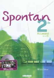 Spontan, 2de, allemand, A2-B1 de Wolf Halberstadt ed. Didier 2011 - 22,40€