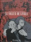 Le voleur de livres de Alessandro Tota, Pierre Van Hove ed. Futuropolis 24€